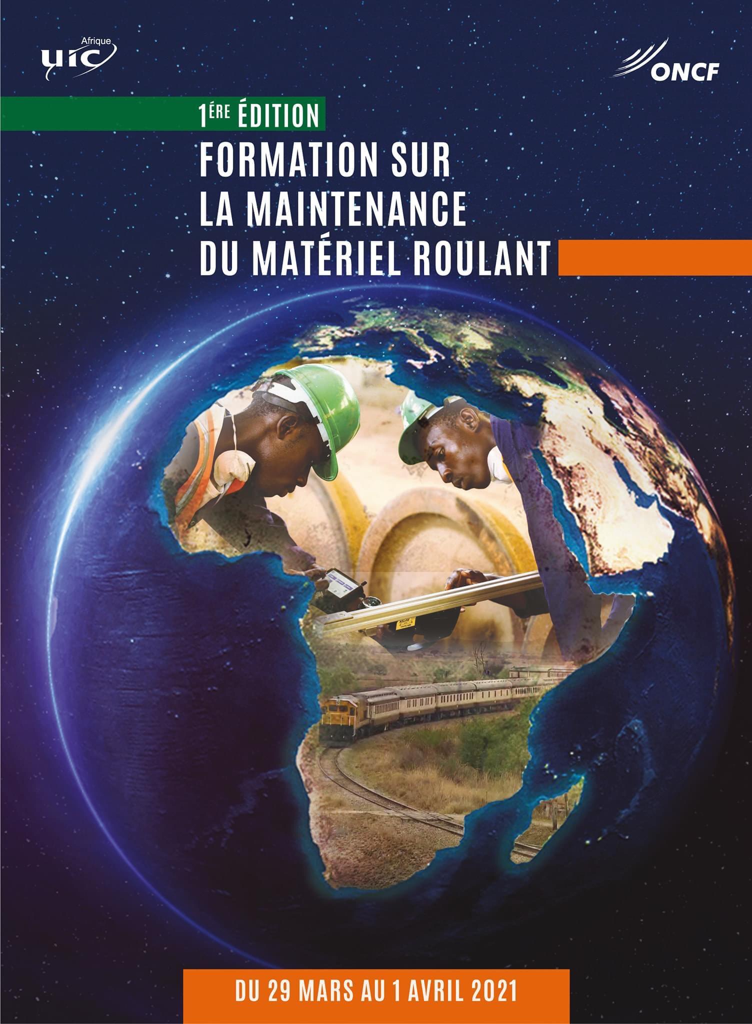 DEMARRAGE D'UN NOUVEAU CYCLE DE FORMATION  SUR LE MATERIEL ROULANT AU PROFIT DE  PLUS DE 100 RESPONSABLES DES RESEAUX AFRICAINS