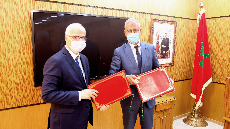 L'Office National des Chemins de Fer et Barid Al Maghrib  des partenaires novateurs pour une meilleure qualité du service-client
