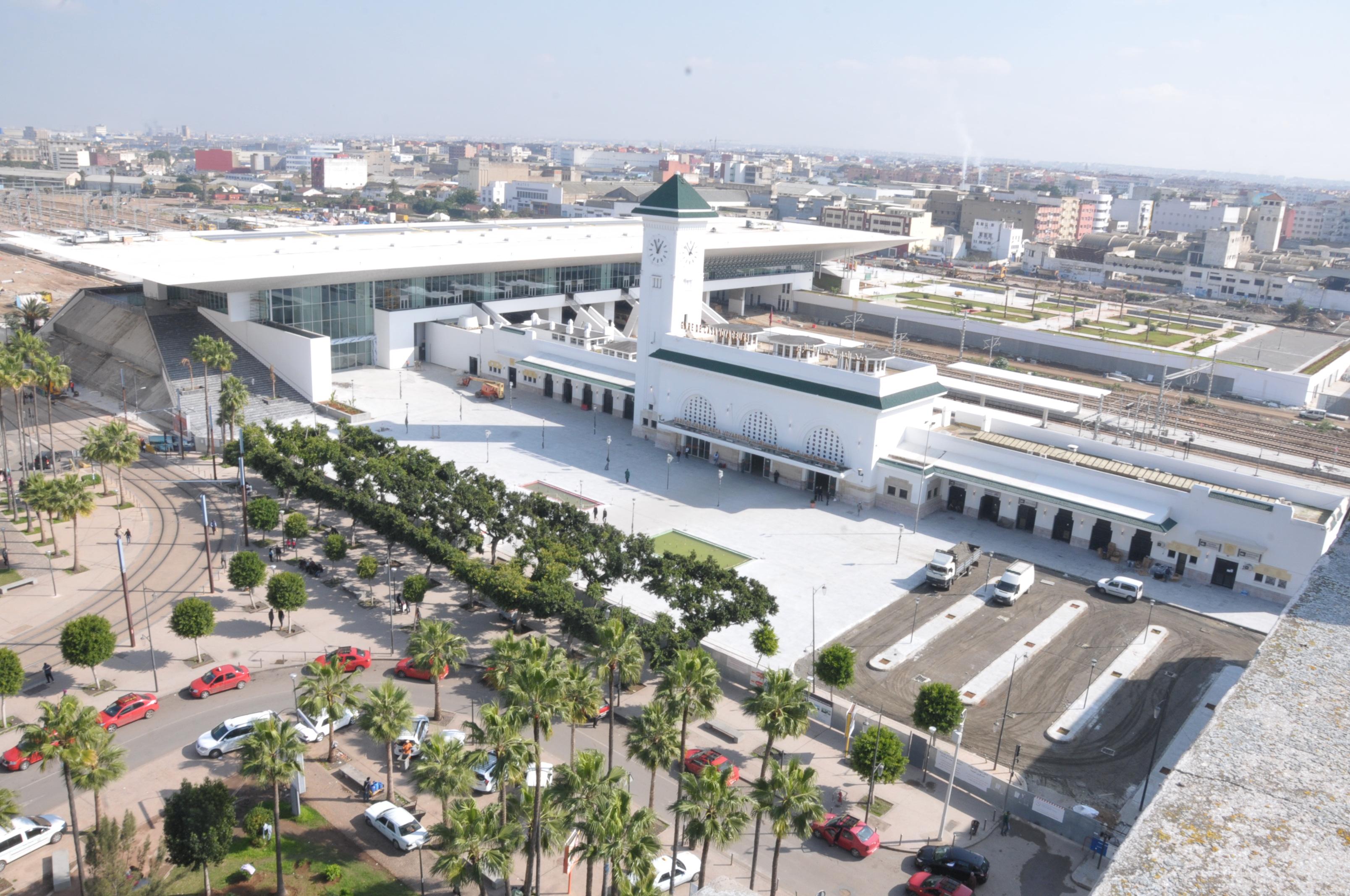 L'ONCF : parkings gratuits jusqu'à fin Novembre dans les nouvelles gares
