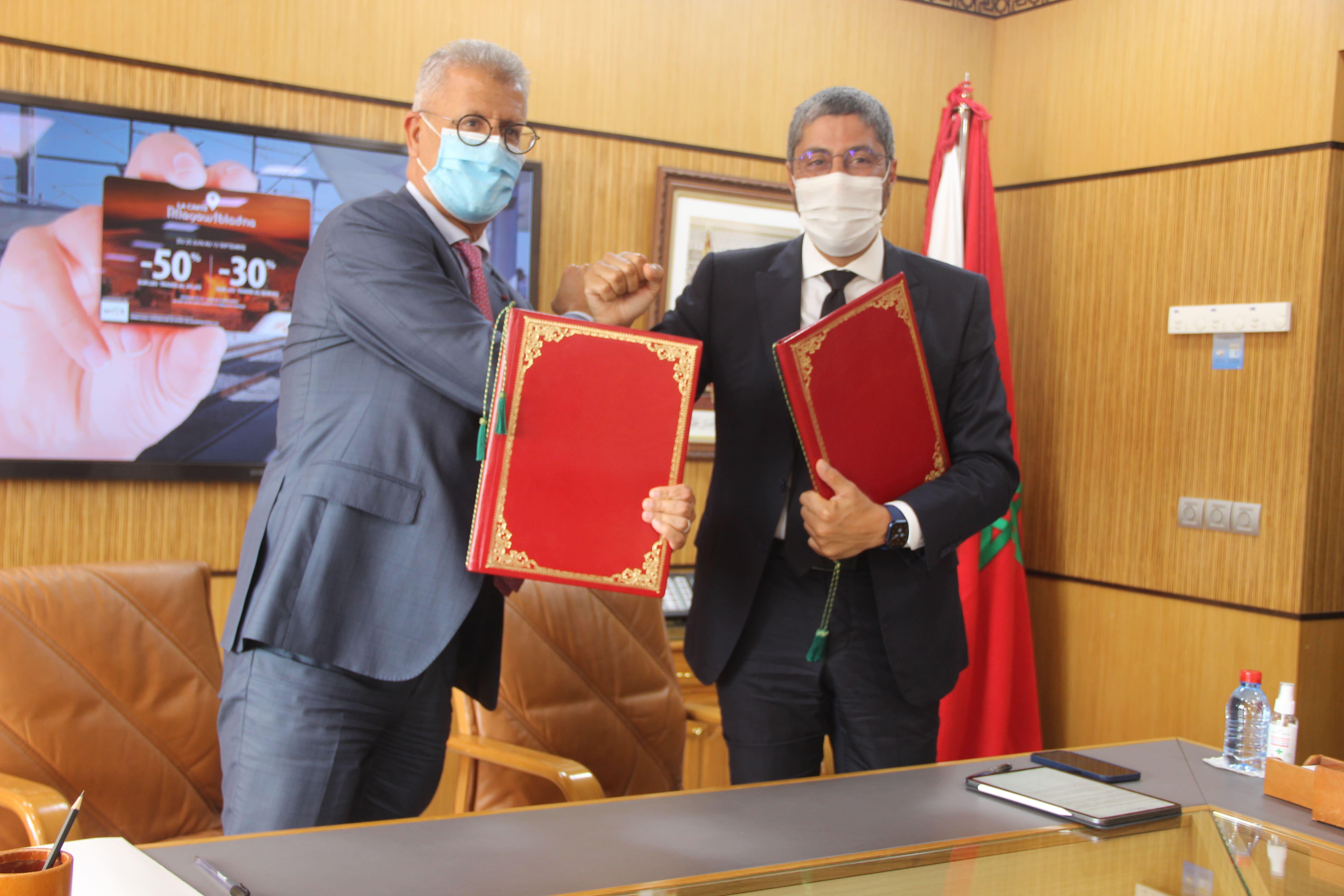 Partenariat ONCF-ONMT  Une complémentarité au service du tourisme interne