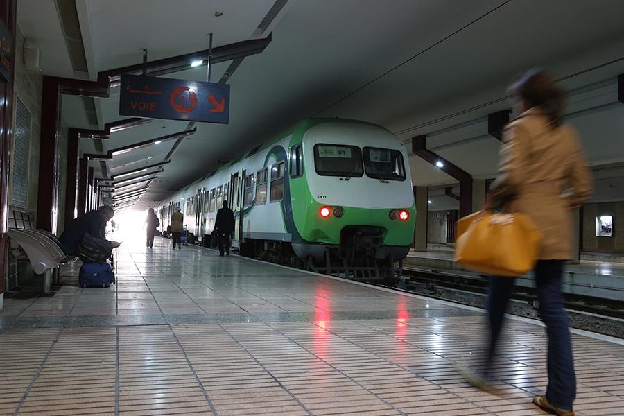 REPRISE PROGRESSIVE DES TRAINS DESSERVANT L'AEROPORT MOHAMMED V DANS LE RESPECT DES MESURES DE SECURITE SANITAIRE